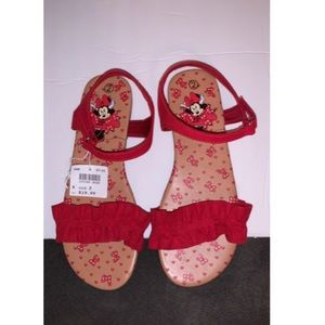 Kid's Minnie Mouse Sandals